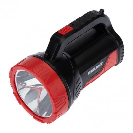 Прожектор поисковый с головным и боковым светом, со встроенным аккумулятором и встроенным зарядным устройством, зарядка напрямую от сети 220 В (евророзетка), плечевой ремень в комплекте
