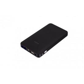 Портативное многофункциональное зарядное устройство ёмкостью 8000 мАч для компьютеров, телефонов, автомобилей. Черный.