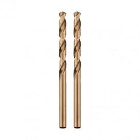 Сверло по металлу  3 мм «Кобальт» (сталь HSS-Co 5% M35 P6M5K5) (2 шт. в блистере) DIN 338 REXANT