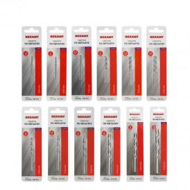 Набор сверл по металлу Домашний Max (HSS) диаметр 1,5-2-2,5-3-3,2-3,5-4-4,5-5-6-8-10 мм (12 шт.) REXANT