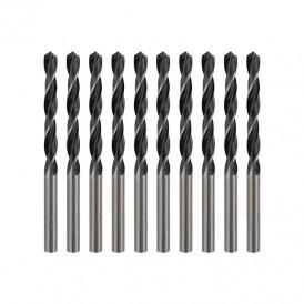 Сверло по металлу 5,0 мм HSS (10 шт. в упаковке) DIN 338 REXANT