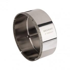 Коронка алмазная 100 мм с центровочным сверлом REXANT
