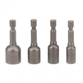 Набор ключей-насадок магнитных 6/8/10/13х48 мм с шестигранной головкой REXANT
