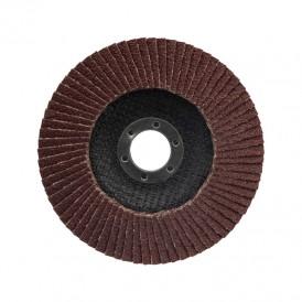 Круг лепестковый торцевой P 80, 125х22,2 мм Kranz