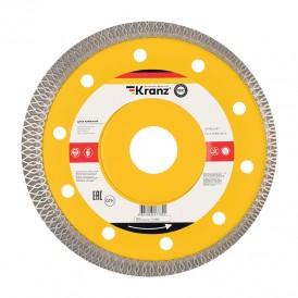 Диск алмазный отрезной ультратонкий 125x22.2 мм Kranz