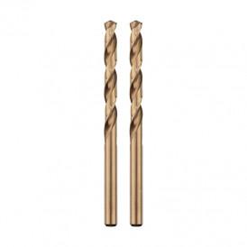 Сверло по металлу 2,5 мм «Кобальт» (сталь HSS-Co 5% M35 P6M5K5) (2 шт. в блистере) DIN 338 Kranz