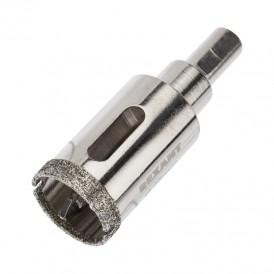 Коронка алмазная 25 мм с центровочным сверлом Kranz