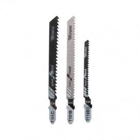 Набор полотен для электролобзика KRANZ № 1 T101B/T111C/T119BO (3 шт./уп.)