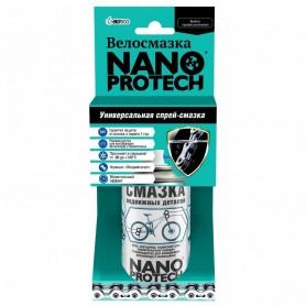 Смазка подвижных деталей NANOPROTECH для велосипеда, 210 мл
