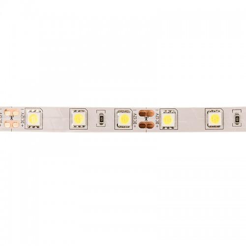 LED лента открытая, 10 мм, IP23, SMD 5050, 60 LED/m, 12 V, цвет свечения белый