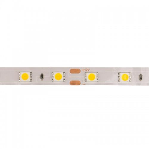 LED лента открытая, 10 мм, IP23, SMD 5050, 60 LED/m, 12 V, цвет свечения теплый белый