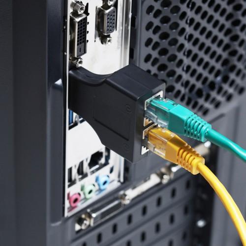 HDMI удлинитель по витой паре RJ-45(8P-8C)  REXANT