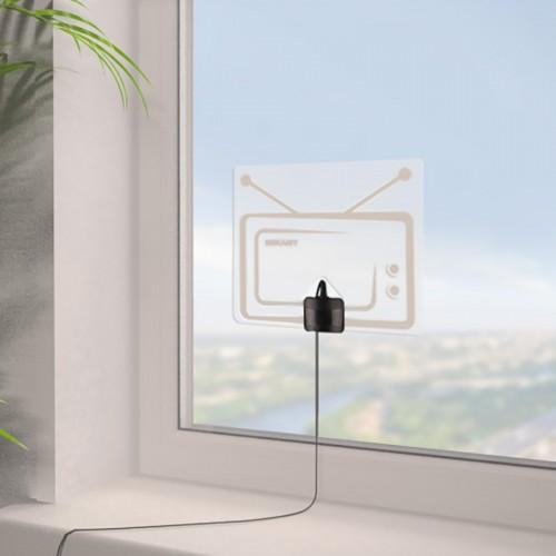 Антенна комнатная «Активная» для цифрового телевидения DVB-T2, Ag-717 REXANT