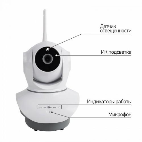 Беспроводная поворотная 4G (LTE) Smart HD камера, ИК 10 м