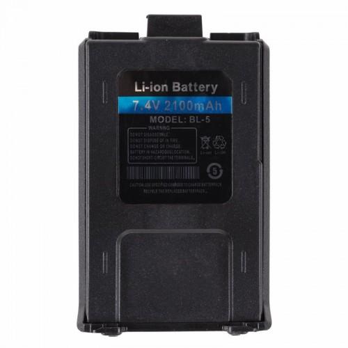 Аккумуляторная батарея для радиостанций серии UV-5R Li-ion 2100 мАч