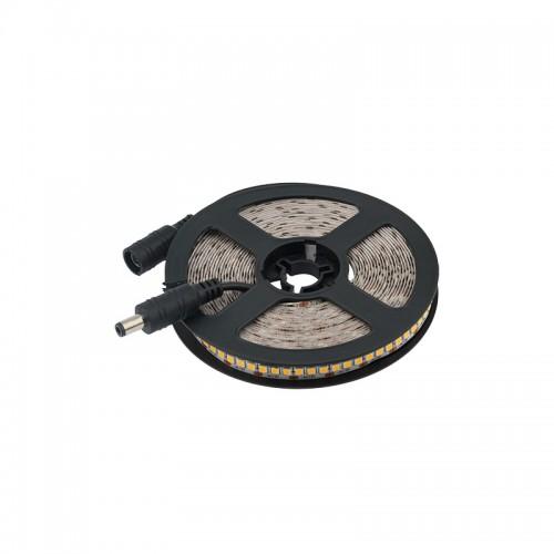 LED лента 12 В, 10 мм, IP23, SMD 2835, 240 LED/m, цвет свечения теплый белый (3000 К)