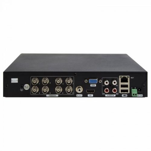 Видеорегистратор гибридный 8-ми канальный AHD 4Мп/IP, (без HDD)