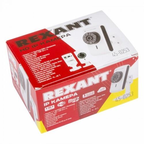 Видеокамера IP 1.0Мп (720P), объектив 2.8 мм., ИК до 15 м.  REXANT