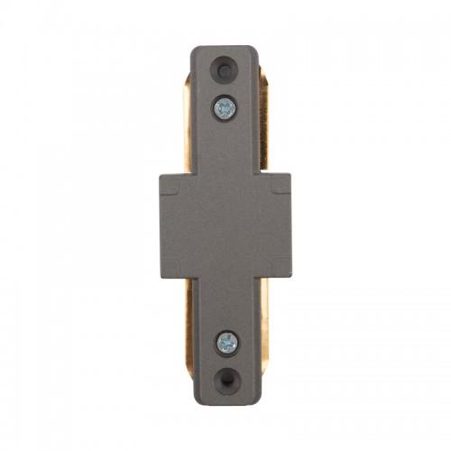 Коннектор для однофазного шинопровода I-образный REXANT серый