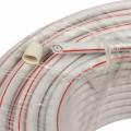 Кабель коаксиальный SAT 50M,  CCS/Al/Al 75%, белый, 100м,  PROconnect
