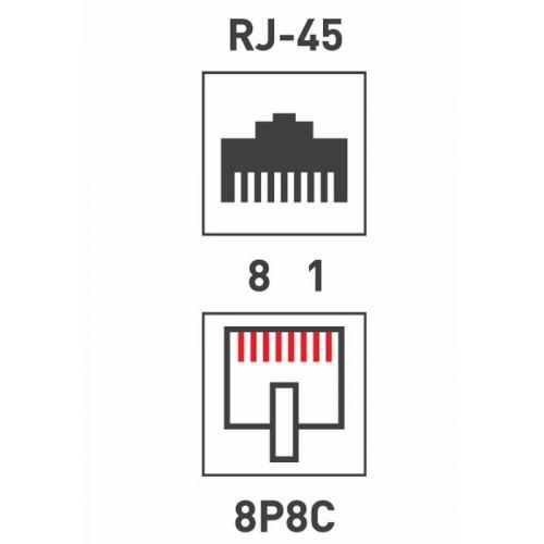 Джек RJ-45 8P8C cat.5e Rexant 05-1023