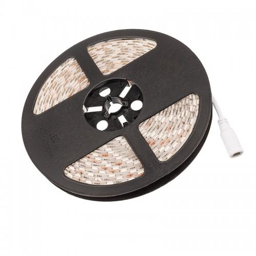 LED лента силикон, 10 мм, IP65, SMD 5050, 60 LED/m, 12 V, цвет свечения желтый