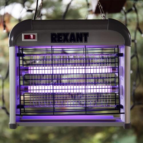 Антимоскитная лампа 2х6Вт, 220В (R60)  REXANT