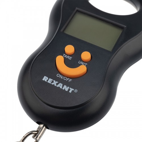 Весы безмен электронные до 50 кг  REXANT