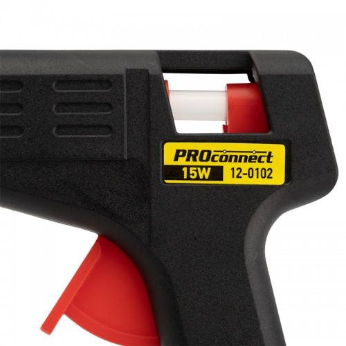 Пистолет клеевой 15 Вт Ø 7 мм малый (блистер) PROconnect
