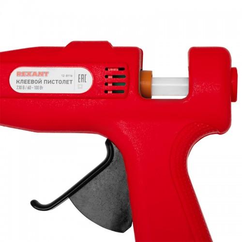 Пистолет клеевой 60 Вт/100 Вт Ø 11 мм двухрежимный (блистер) REXANT