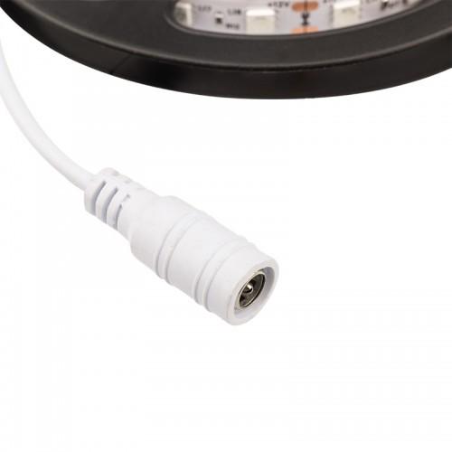 LED лента силикон, 10 мм, IP65, SMD 5050, 60 LED/m, 12 V, цвет свечения зеленый