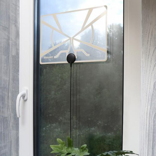 Антенна комнатная для цифрового телевидения DVB-T2, Ag-710 REXANT