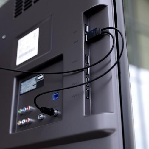 Антенна комнатная «Активная» для цифрового телевидения DVB-T2, Ag-713 REXANT