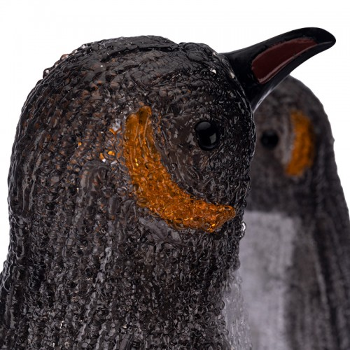 Акриловая светодиодная фигура «Семья пингвинов» 40х33х36 см, 80 светодиодов, IP65, понижающий трансформатор в комплекте NEON-NIGHT