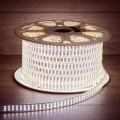 LED лента 220 В, 7.5x20 мм, IP67, SMD 2835, 276 LED/m, цвет свечения белый, 50 м