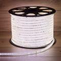 LED лента 220 В, 6.5x15 мм, IP67, SMD 3014, 240 LED/m, цвет свечения белый, 100 м