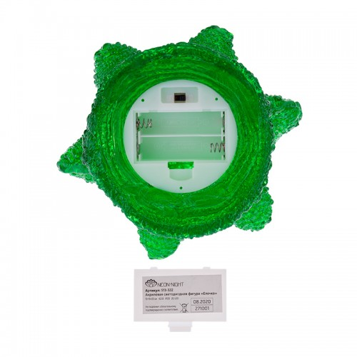 Акриловая светодиодная фигура «Елочка» 15х15х22 см, 20 светодиодов, батарейки 2хAA (не входят в комплект) NEON-NIGHT