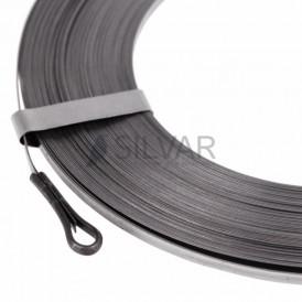 Протяжка кабельная стальная плоская PROconnect, 30 м