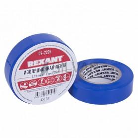 Изолента 19мм х 25м Rexant 09-2205 синяя