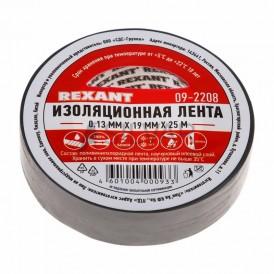 Изолента 19мм х 25м Rexant 09-2208 серая