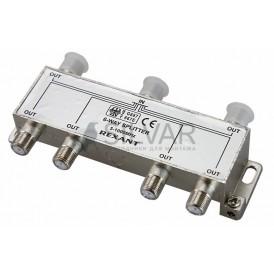 ДЕЛИТЕЛЬ  ТВ  х 6 под F разъём 5-1000 МГц | 05-6004 | REXANT
