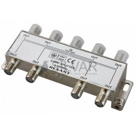 ДЕЛИТЕЛЬ  ТВ х 8 под F разъём 5-1000 МГц | 05-6005 | REXANT