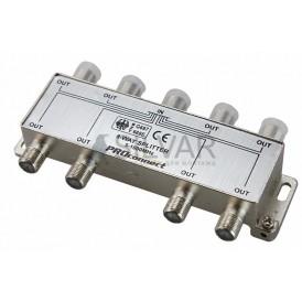 ДЕЛИТЕЛЬ  ТВ  х 8 под F разъём 5-1000 МГц | 05-6025 | PROconnect