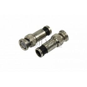 Разъем штекер BNC RG-6 компрессионный Rexant 05-3036