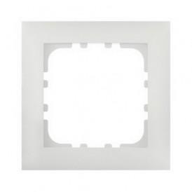 Рамка 1-постовая Экопласт LK60 белая