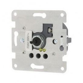 Механизм светорегулятора со световой индикацией Экопласт LK60 поворотно-нажимной с предохранителем 450 Вт