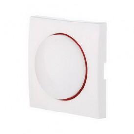 Накладка светорегулятора с красной световой индикацией Экопласт LK60 белая