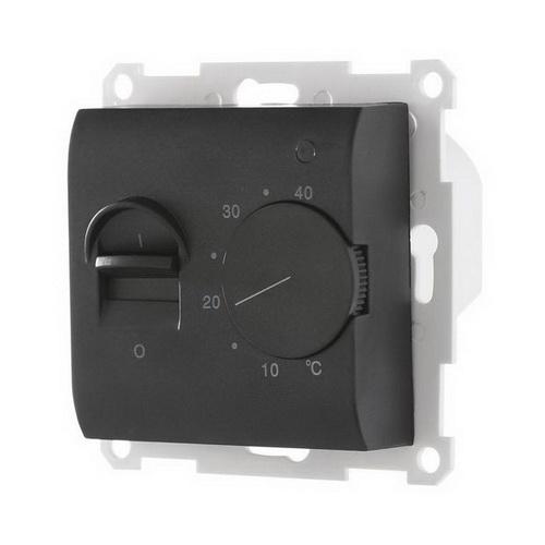 Датчик теплого пола в комплекте с сенсором Экопласт LK60 черный бархат