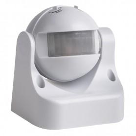 Датчик движения настенный ДДС 02, 180°, 1200 Вт, 10-2000 Лк, 12 м, 10-420 сек. IP44 Rexant