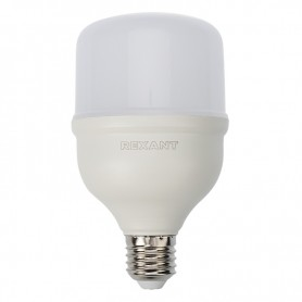 Лампа светодиодная высокомощная 30Вт E27 с переходником на E40 2850лм 6500K холодный свет Rexant